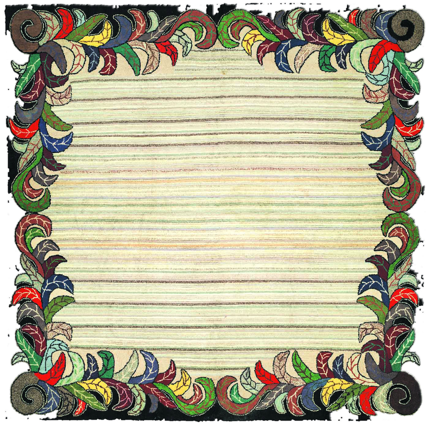 Hooked Rug BB2615
