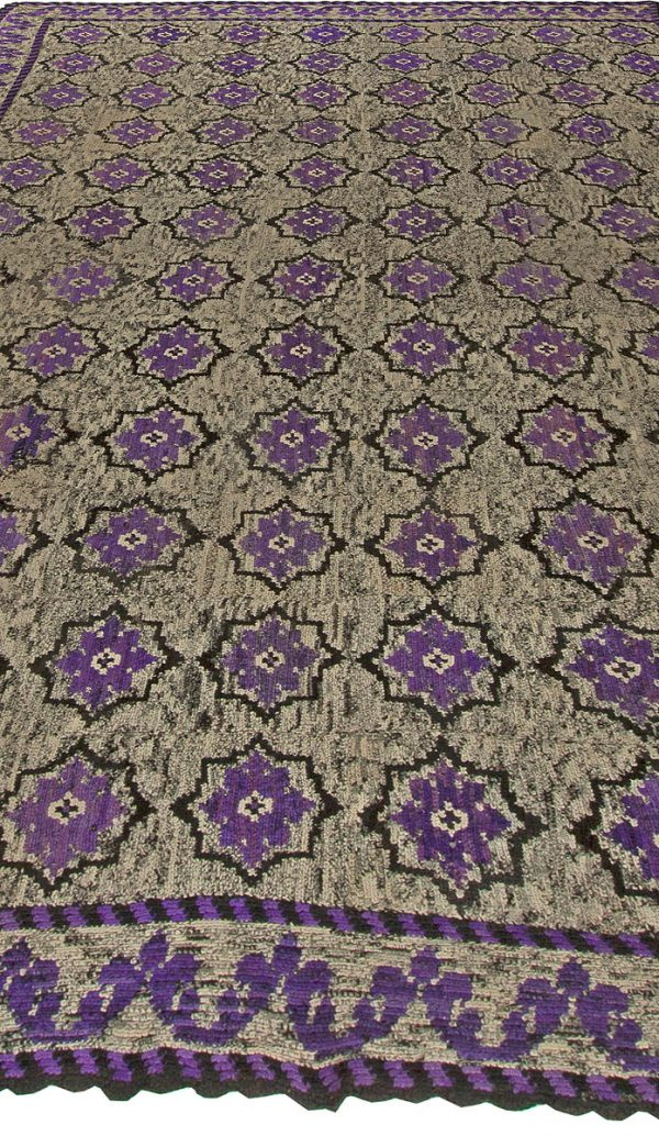Vintage French Rag Rug BB5663