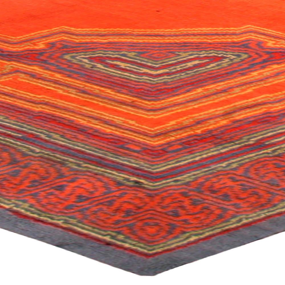 Vintage Viennese Orange Rug BB2745