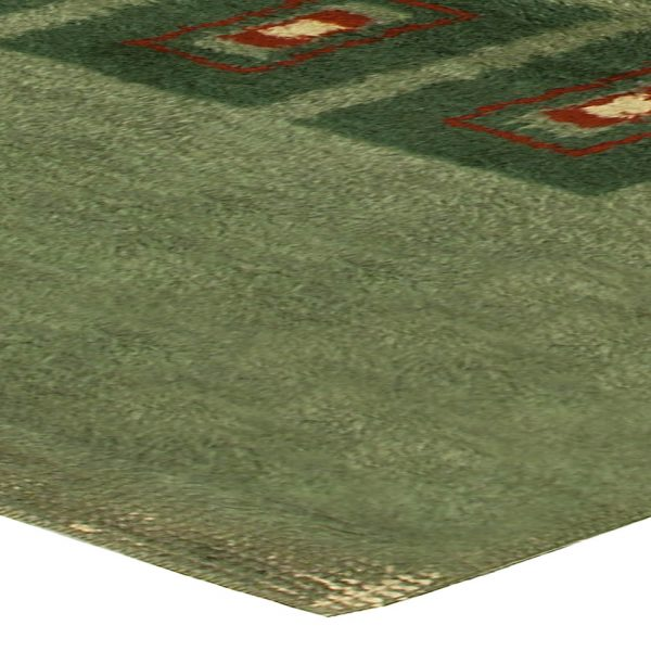 Vintage French Deco Rug BB5048