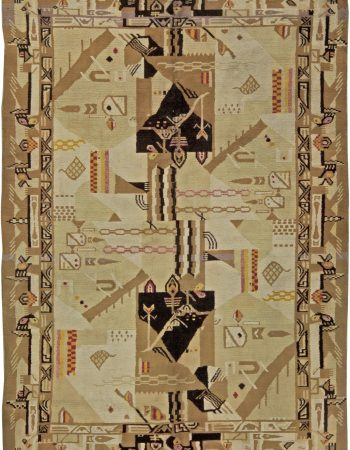 Antiguidade indiana Agra Rug BB4980