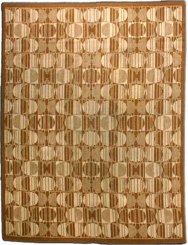 Vintage Deco Carpet BB3666