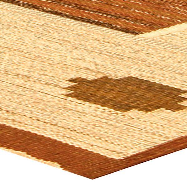 Piso sueca de la vendimia la manta tejida BB4800