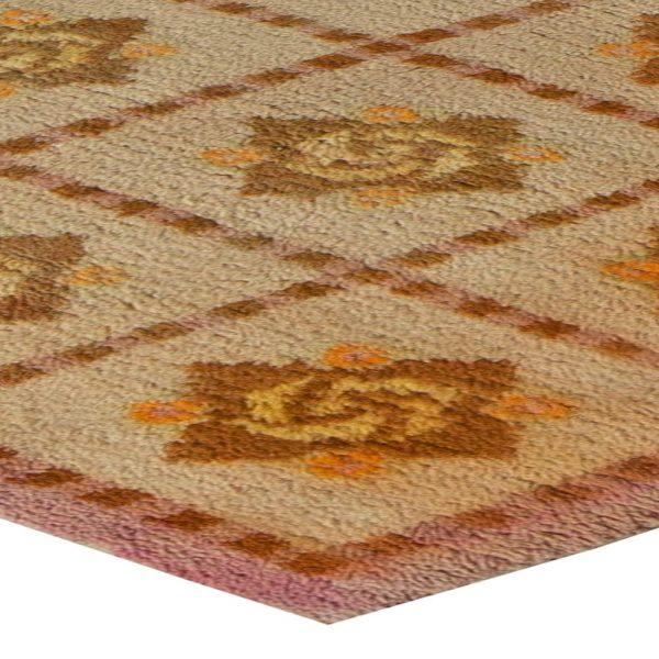 Vintage French Deco Carpet BB5655