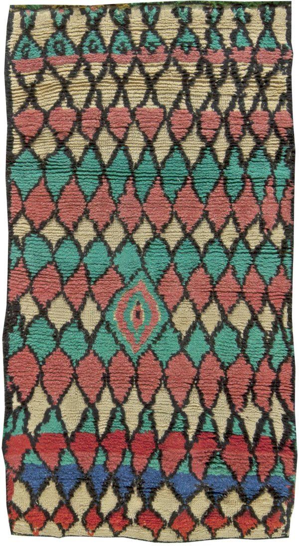 Vintage Moroccan Rug BB5867