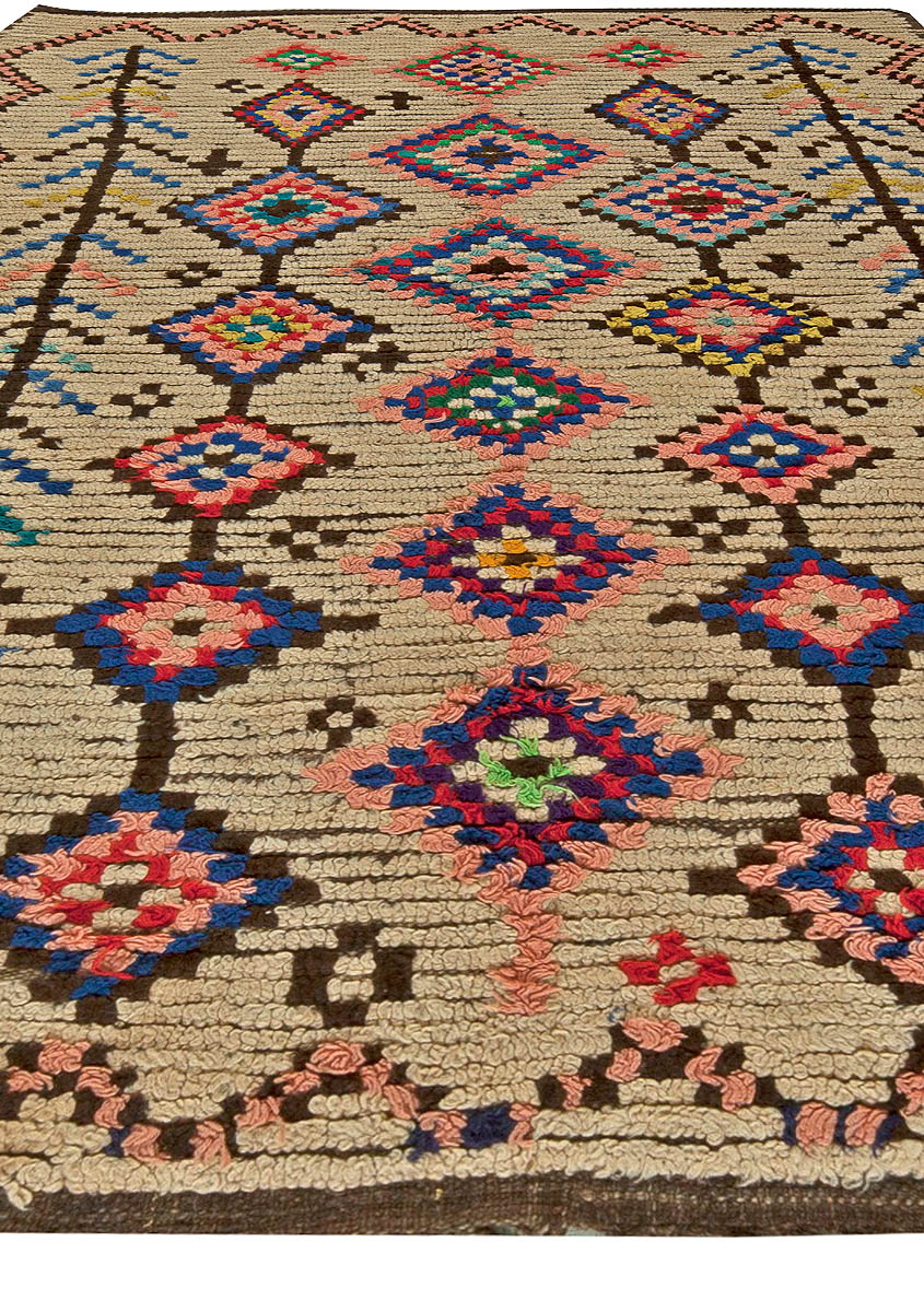 Vintage Moroccan Rug Bb5900 By Dlb