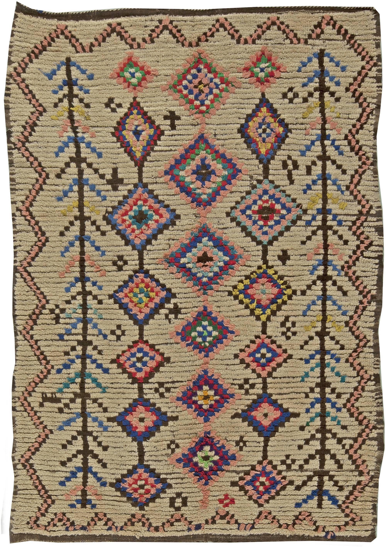 Vintage marroqu Alfombra BB5900 de Doris Leslie Blau