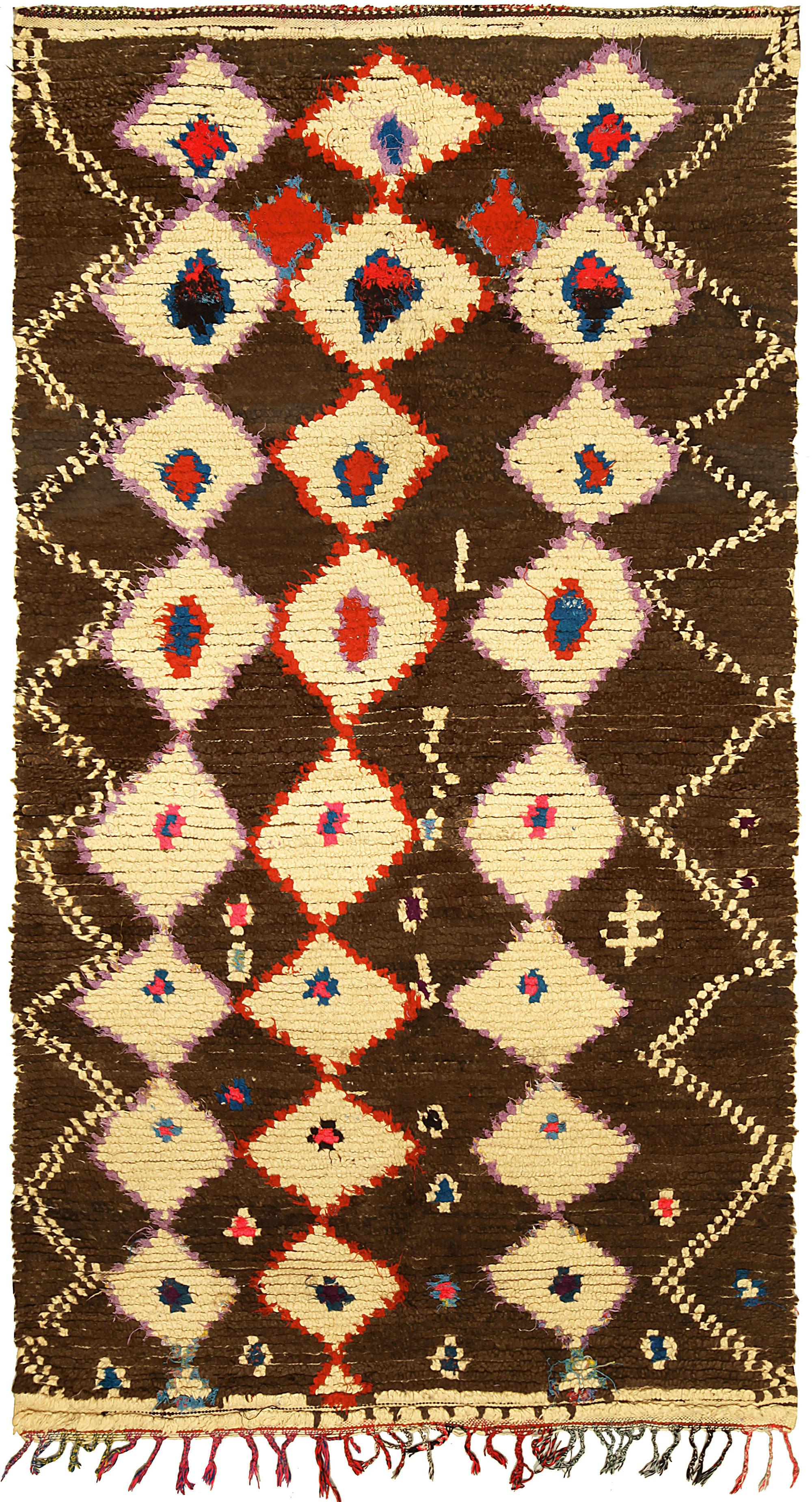 Vintage Moroccan Rug BB5137