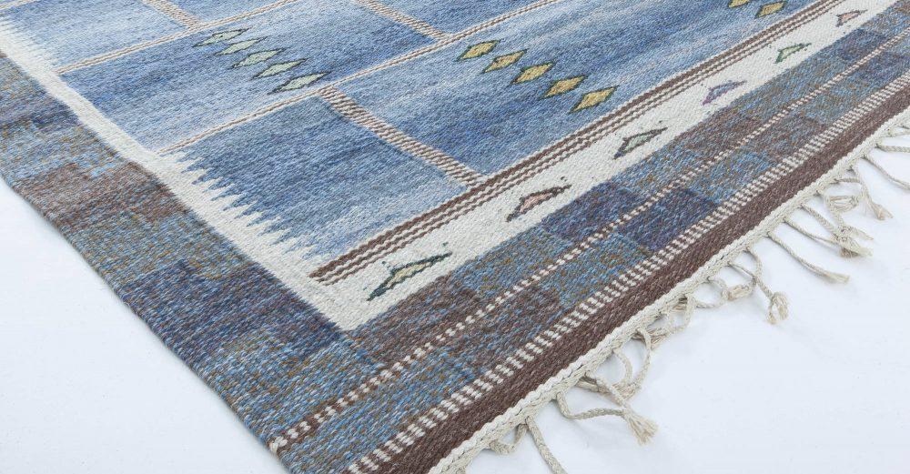 Swedish Flat Weave Rug by Carl Dangel BB6321