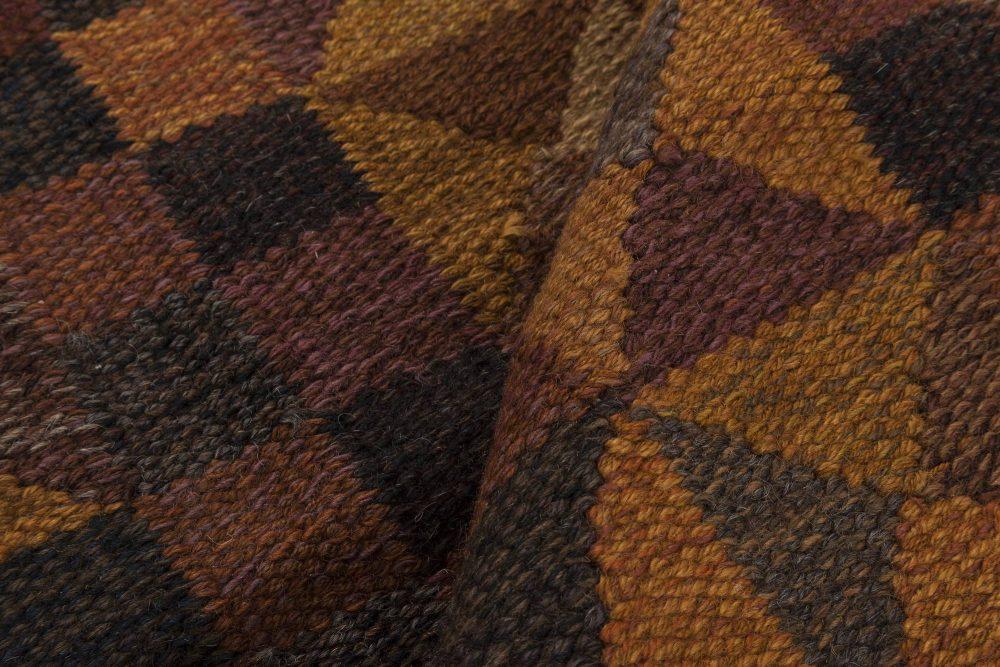 Swedish Flat Weave Rug by Marianne Richter BB6357