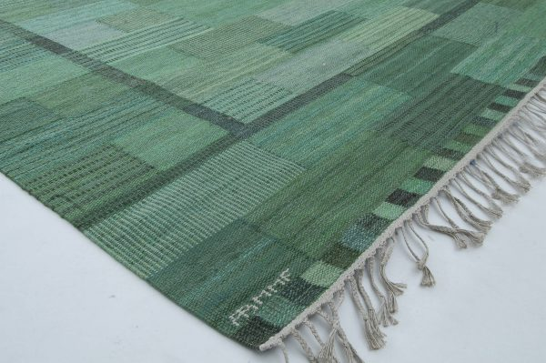 Swedish Flat Weave by Marianne Richter (fasad gron) BB6341