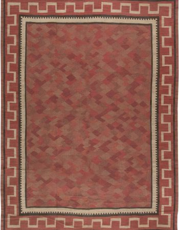 Vintage Swedish Flat weave Rug BB6474