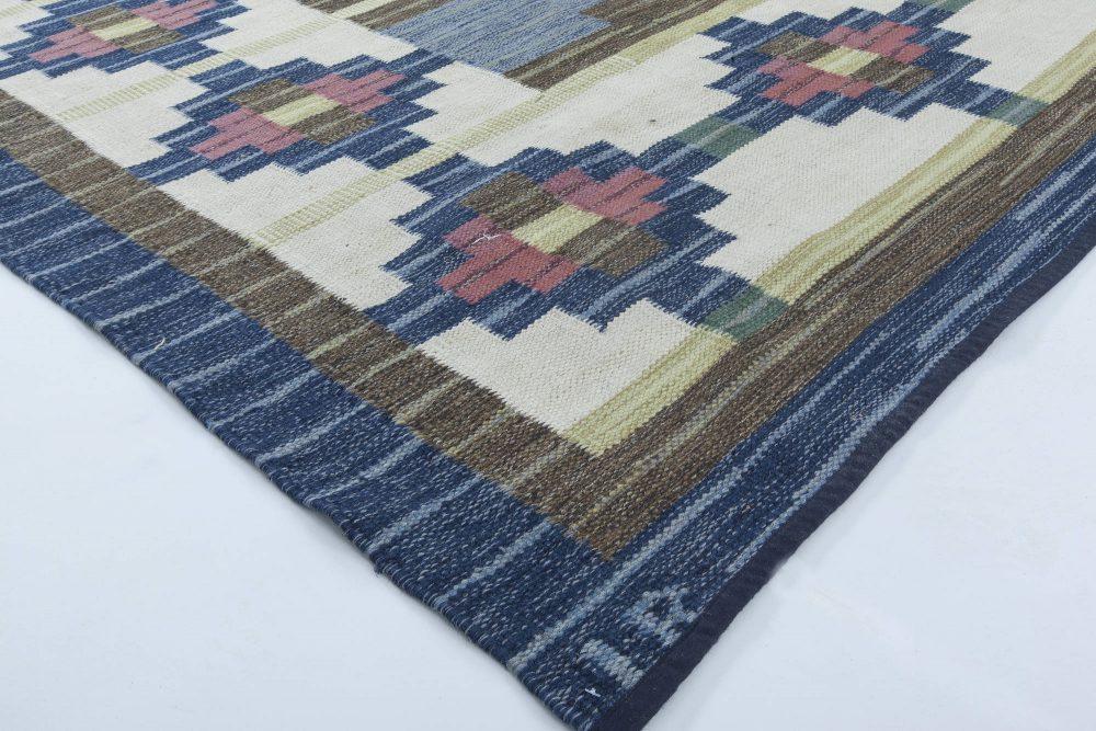 Swedish Flat Weave Rug by (IR) BB6312