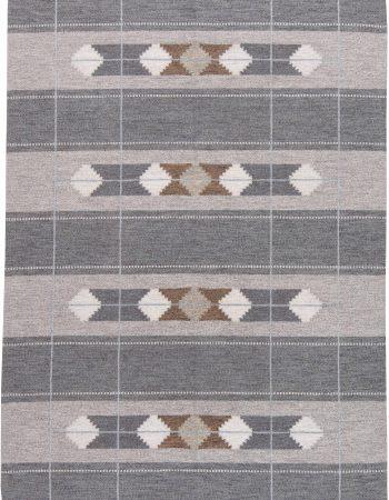 Vintage Swedish Flat Weave Rug BB6230