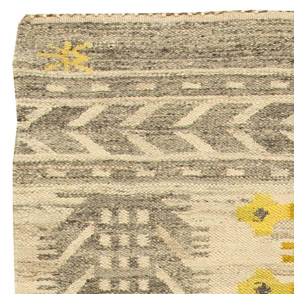 Vintage Swedish Flat Weave Rug BB6150