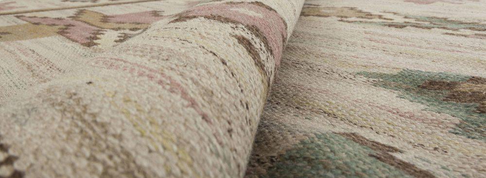 Scandinavian Geometric Wool Flat-Weave by Märta Måås-Fjetterström BB6356