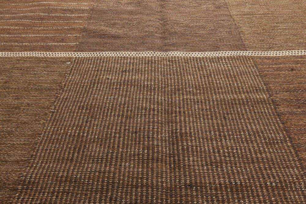 Vintage Swedish Flat Weave Rug  by Marta Maas-Fjetterstrom BB6297