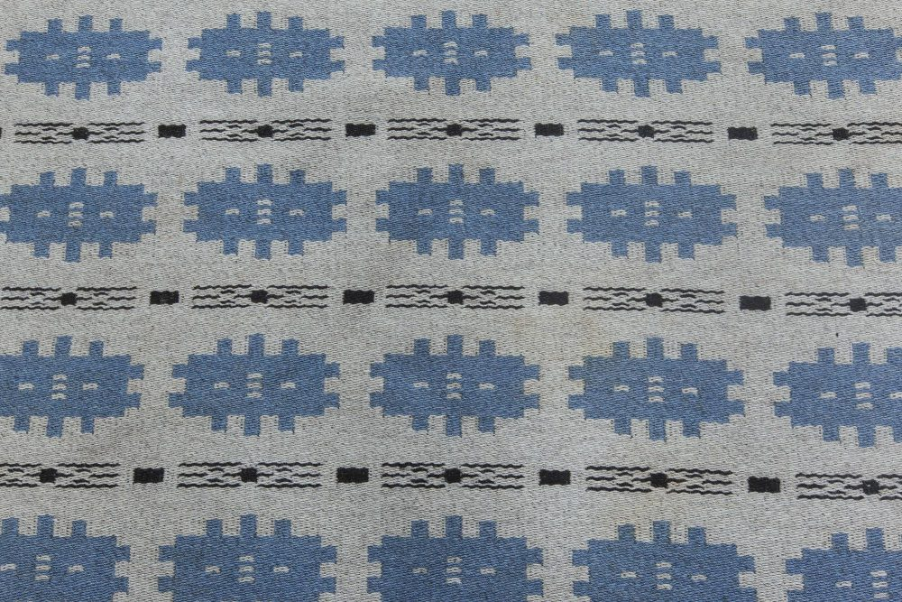 Swedish Flat Weave Double Sided Rug BB6317