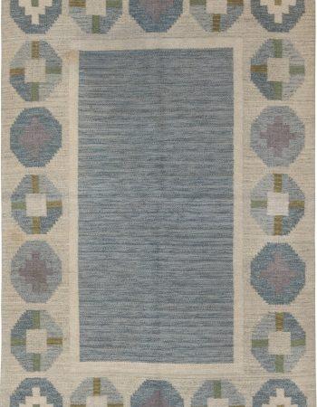 Vintage Swedish Flat Weave Rug by Birgitta Solderkvist BB6559
