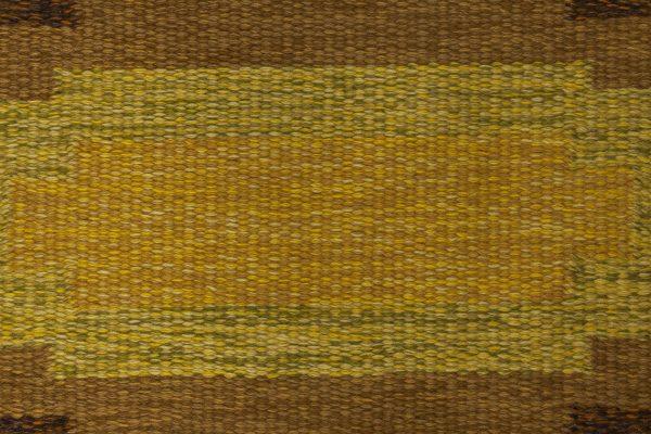 Schwedischer Vintage Flachwebsteppich signiert von Ingegerd Silow BB6538