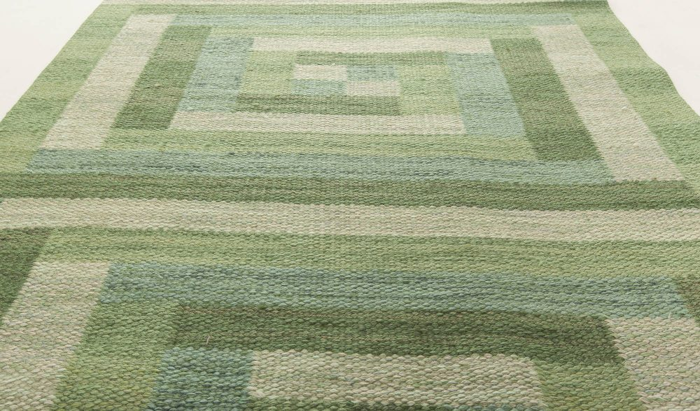 Vintage Swedish Flat weave Runner BB6308