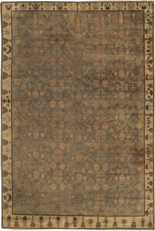 Vintage Samarkand Rug BB6431