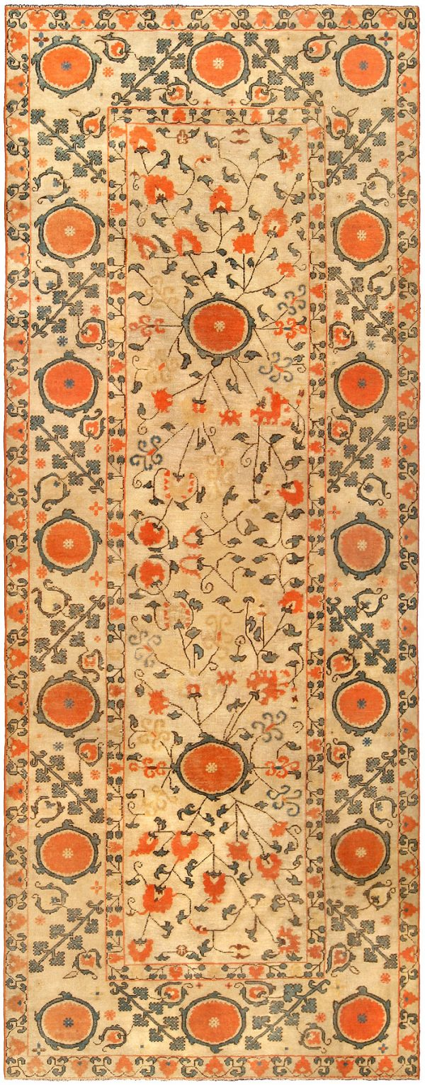 Vintage Samarkand (Khotan) Carpet BB4255