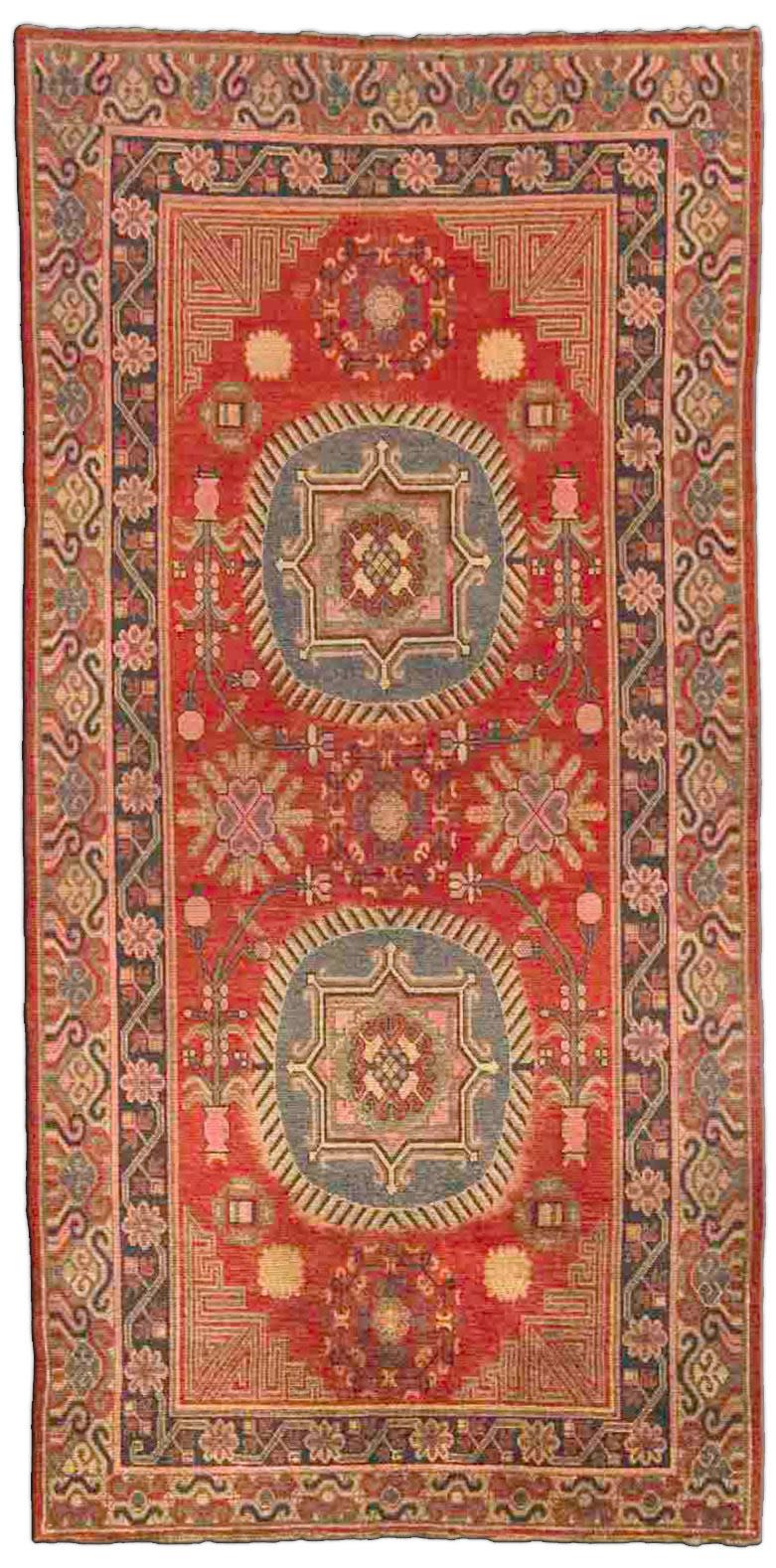 Vintage Samarkand (Khotan) Carpet BB4387