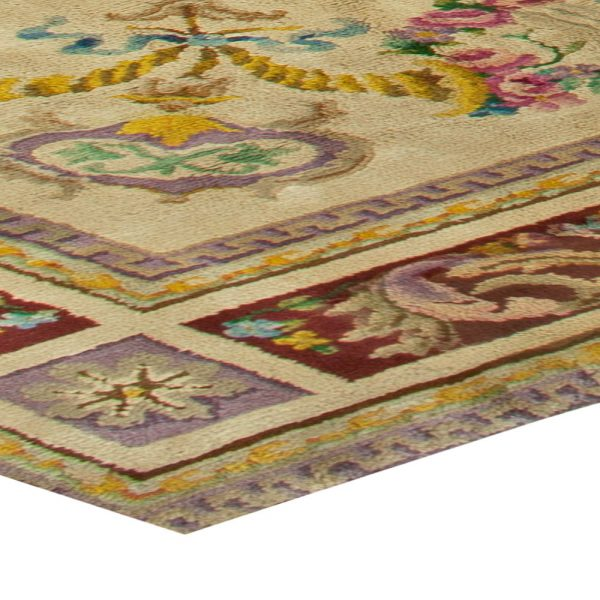 Vintage Spanish Savonnerie Rug (size adjusted) BB2786