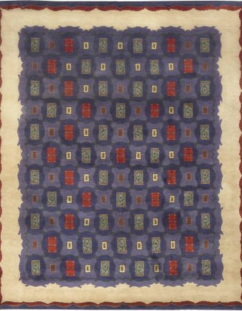 Vintage French Art Deco Rug by Paule Leleu BB5009