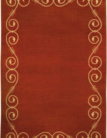 Vintage French Deco Rug BB5017