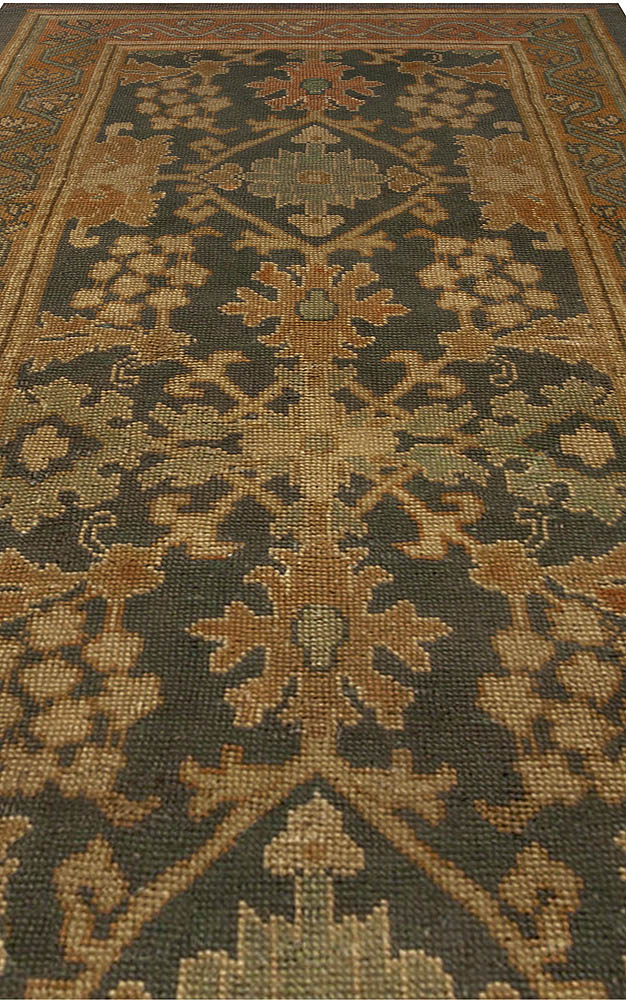 Antique Irish Donegal Runner Rug BB4920