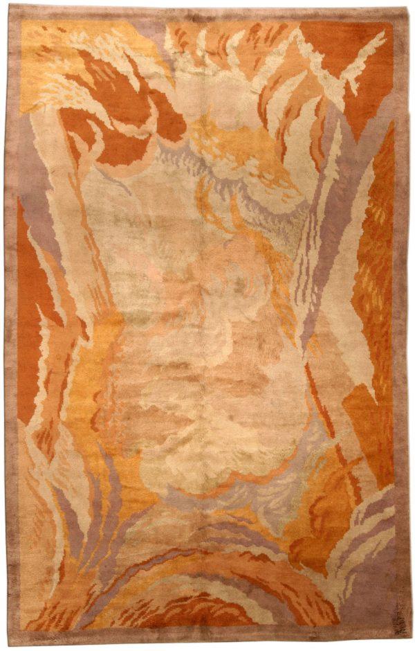 Vintage Art Deco Rug by Renee Kinsbourg BB4546