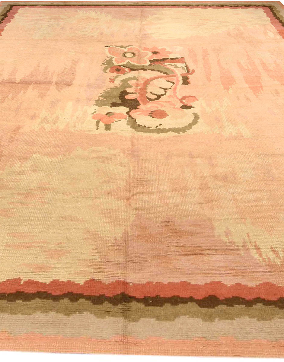 Vintage French Art Deco Rug Bb3779 By Doris Leslie Blau