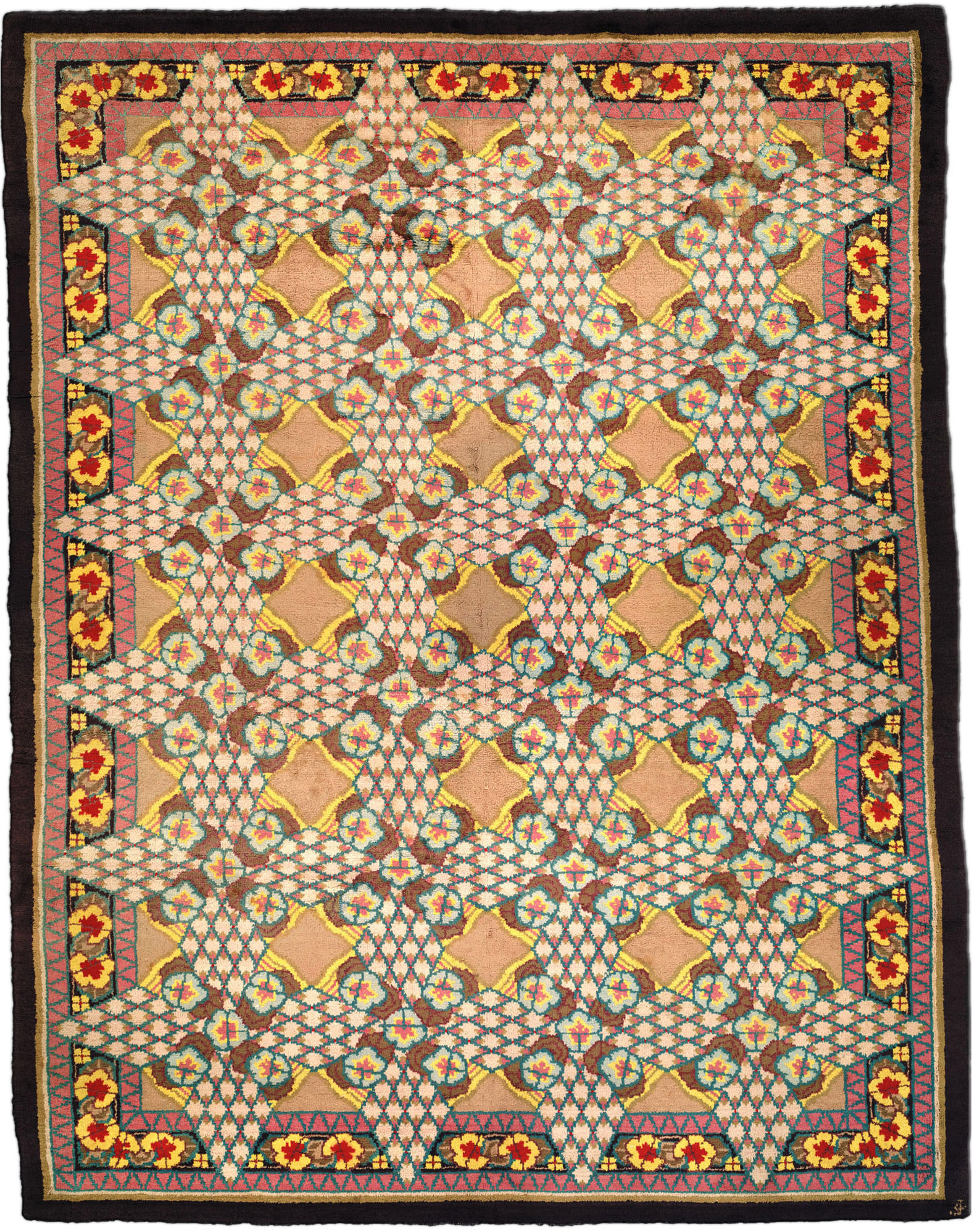 Vintage Deco Carpet BB2117