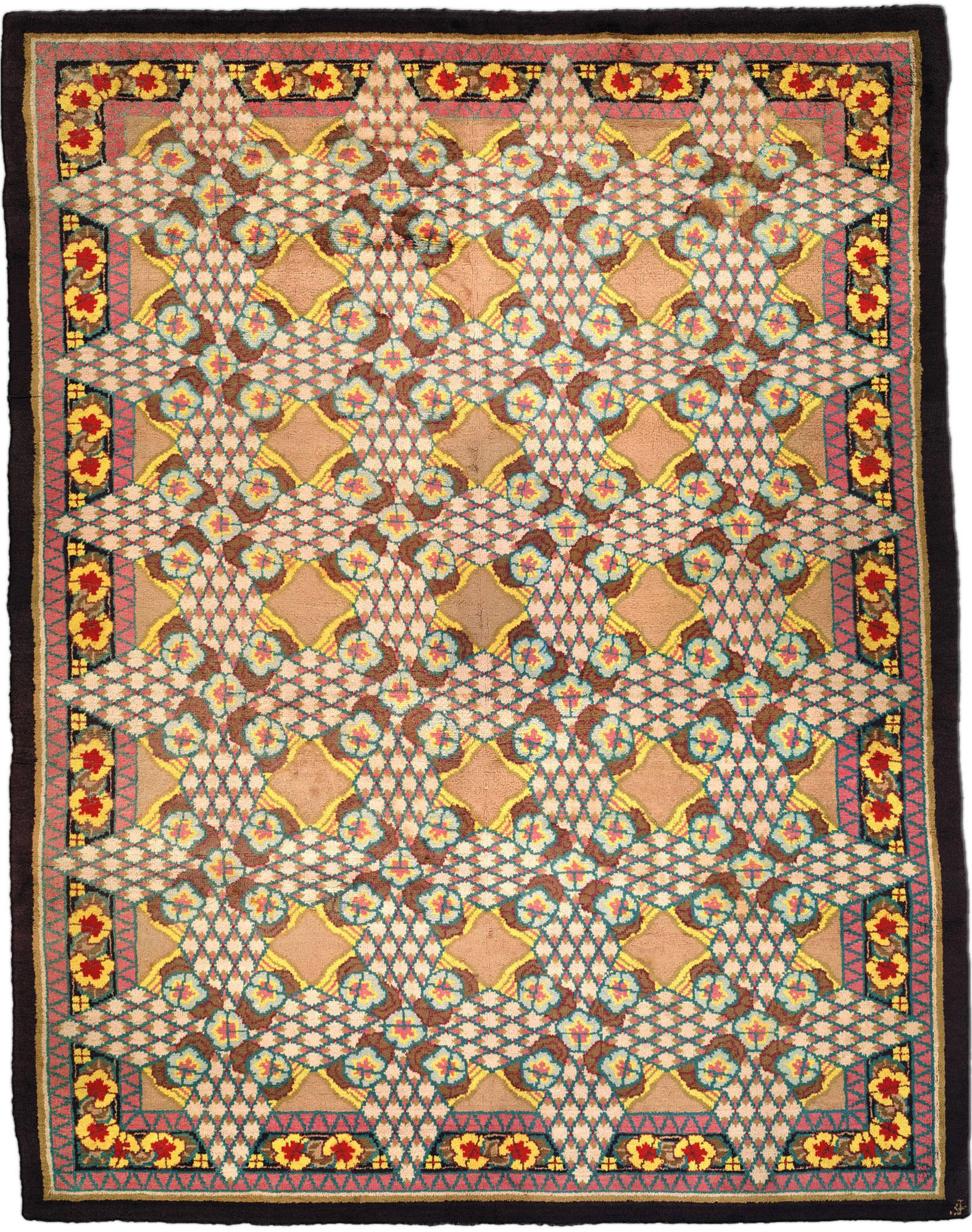Vintage Deco Carpet BB2117