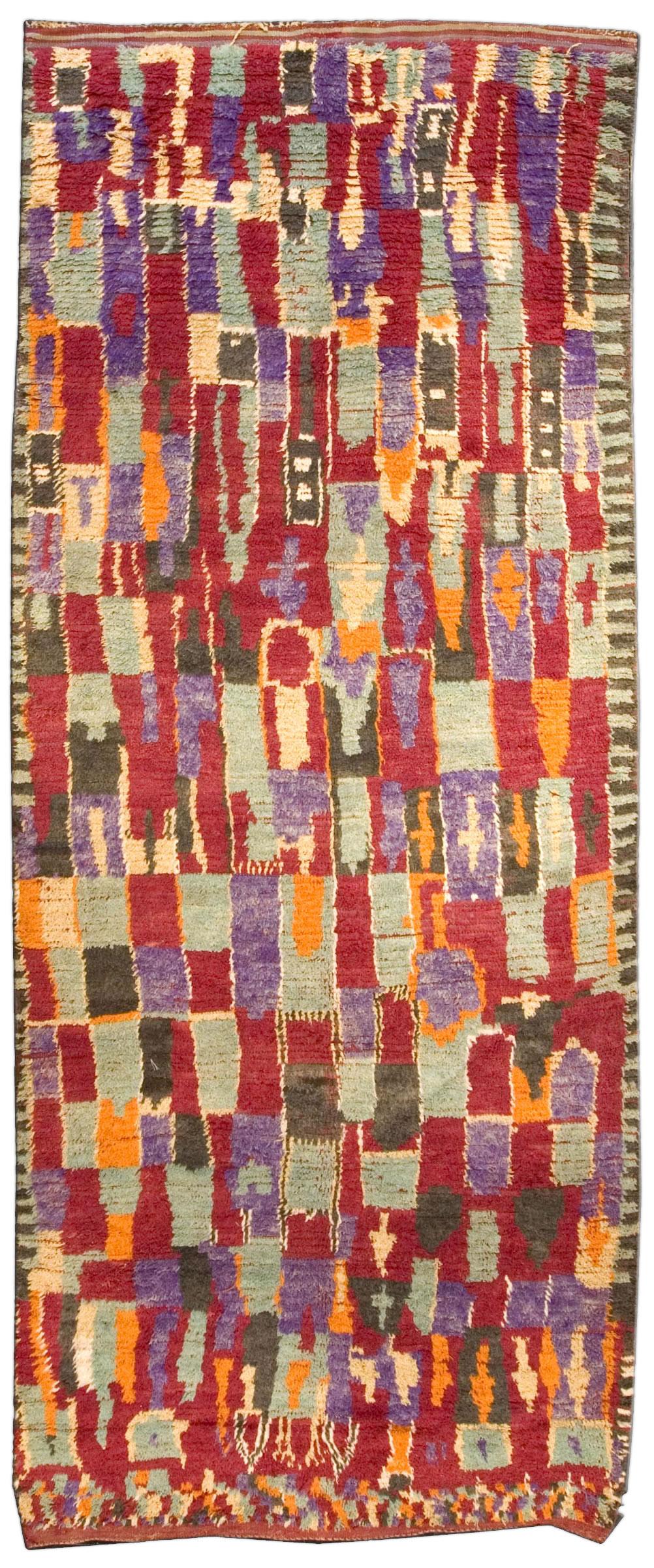 Vintage Moroccan Rug BB3689