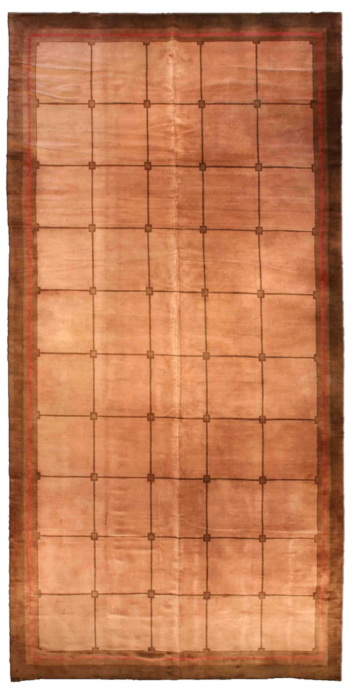 Vintage French Deco Carpet BB1944