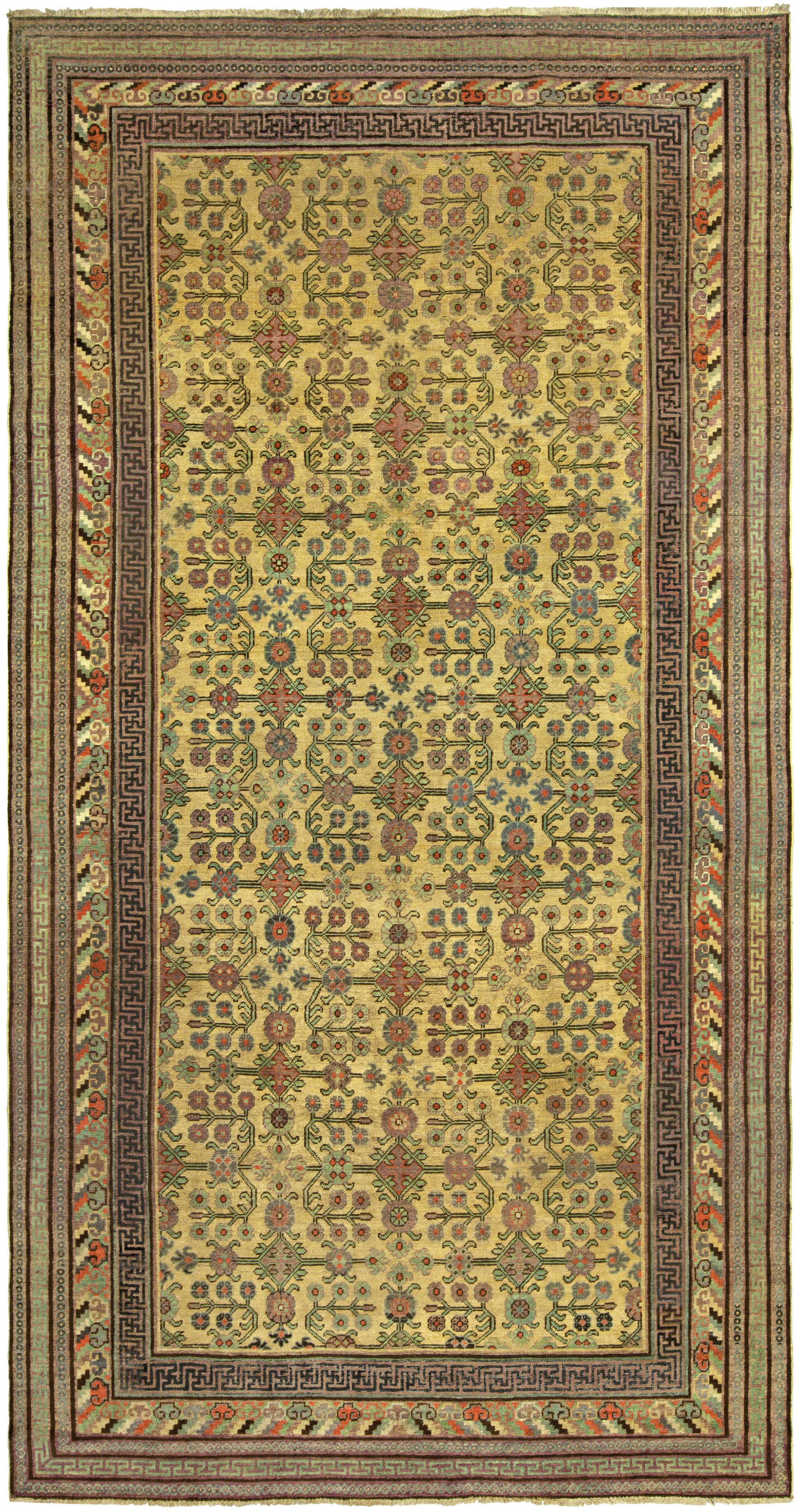 Vintage Samarkand (Khotan) Rug BB5237