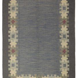 Mid-century Swedish Rug by Ingegert Silow BB5321