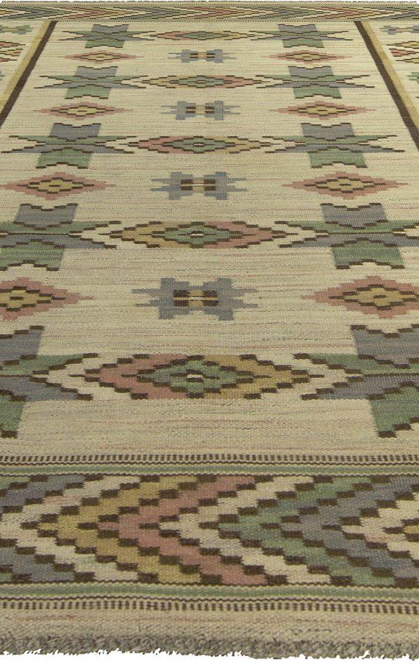 Vintage Swedish Rug by Marta Maas-Fjetterstrom BB5252