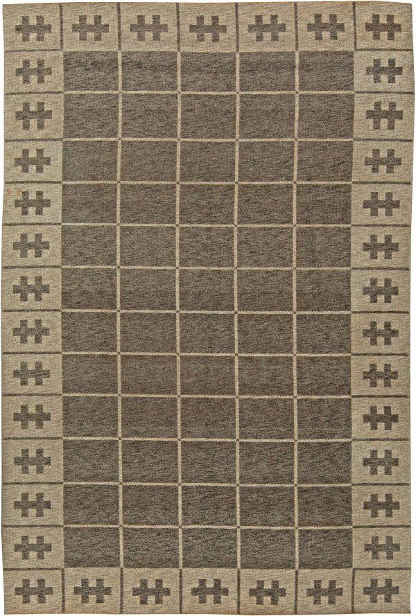 Vintage Swedish Flatweave Rug BB5839