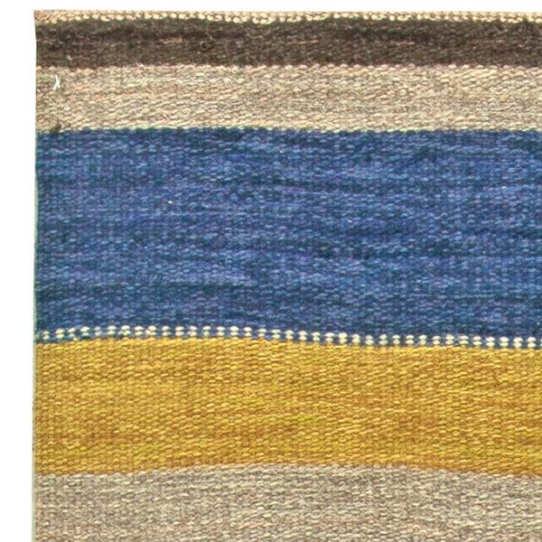 Vintage Swedish Flat Weave Rug BB5826
