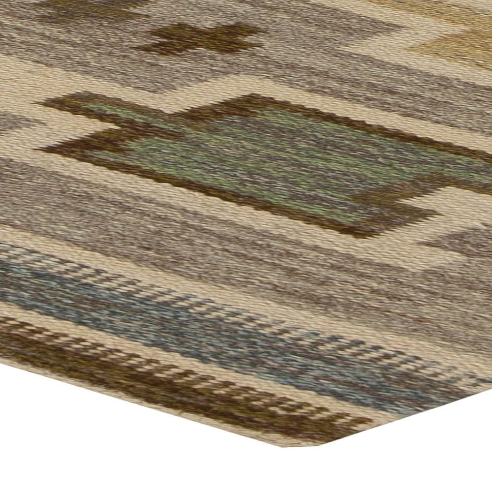 Swedish Flat Weave Rug BB5460