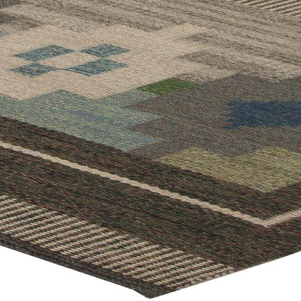 Swedish Flat Weave Rug by Ulla Parkdahj BB5458