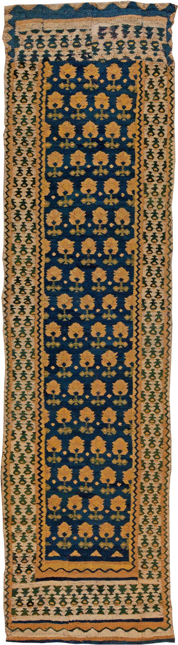 Vintage Spanish Flat Weave Runner BB5414