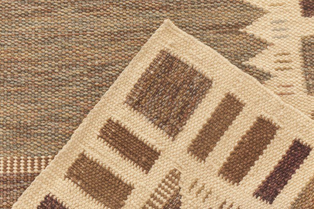Swedish Design Flat Weave Rug N11775