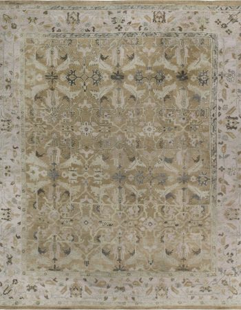 Antique Turkish Oushak Rug BB6845