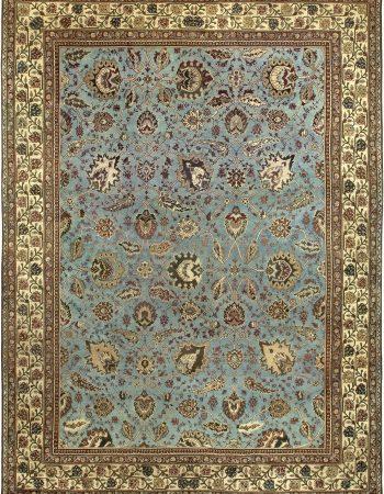 Restauriertes indischen Amritsar Teppich BB6792