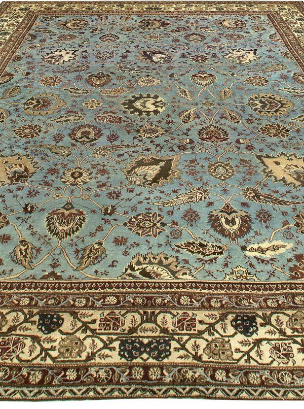 Large Antique Indian Amritsar Rug BB6792